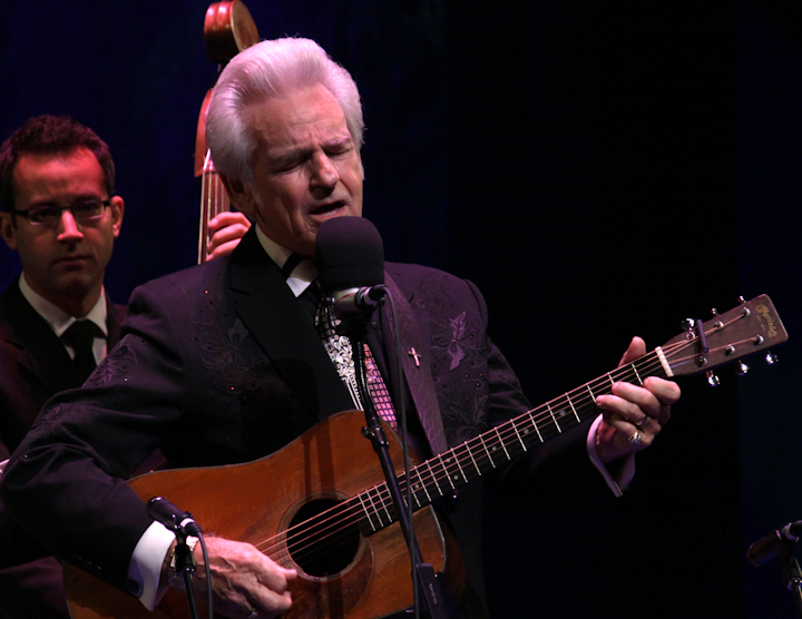 Del McCoury and his band, 2010 National Heritage Fellowship Concert, Bethesda, Maryland, photograph by Michael G. Stewart