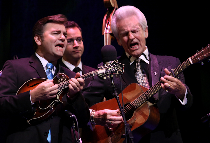 Del McCoury and his band, 2010 National Heritage Fellowship Concert, Bethesda, Maryland, photograph by Michael G. Stewartwart