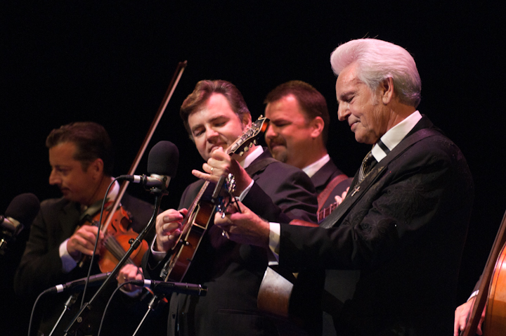 Del McCoury and his band, 2010 National Heritage Fellowship Concert, Bethesda, Maryland, photograph by Alan Hatchett