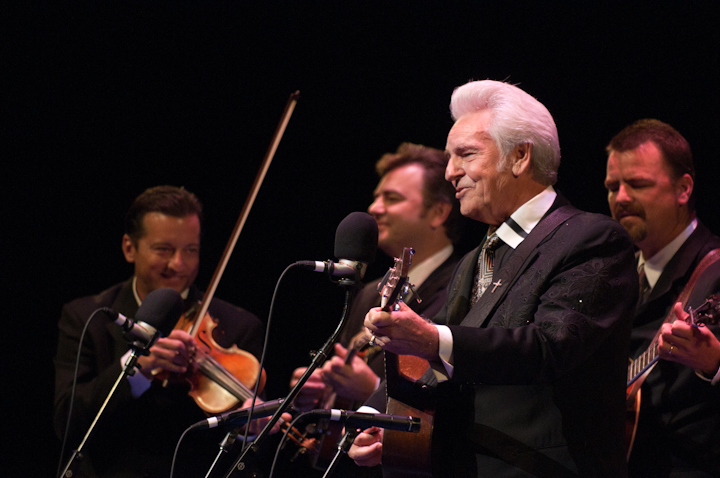 Del McCoury and his band, 2010 National Heritage Fellowship Concert, Bethesda, Maryland, photograph by Alan Hatchettchett