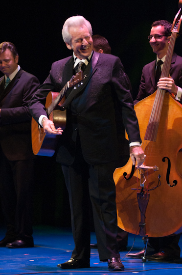 Del McCoury and his band, 2010 National Heritage Fellowship Concert, Bethesda, Maryland, photograph by Alan HatchettHatchett