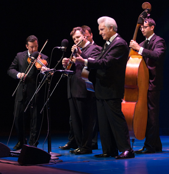 Del McCoury and his band, 2010 National Heritage Fellowship Concert, Bethesda, Maryland, photograph by Alan Hatchettn Hatchett