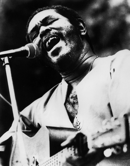 Brownie McGhee, courtesy Agency for the Performing Arts