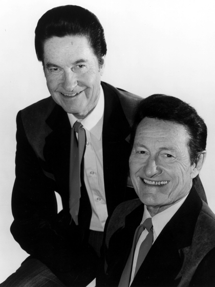 Jim and Jesse McReynolds, photograph by Larry Hill, courtesy National Endowment for the Arts