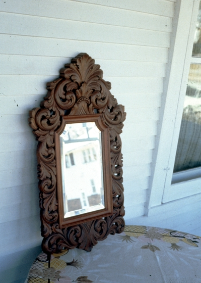 Mirror frame by Leif Melgaard,  photograph by Phil Nusbaum, 1987, courtesy Minnesota State Arts Board