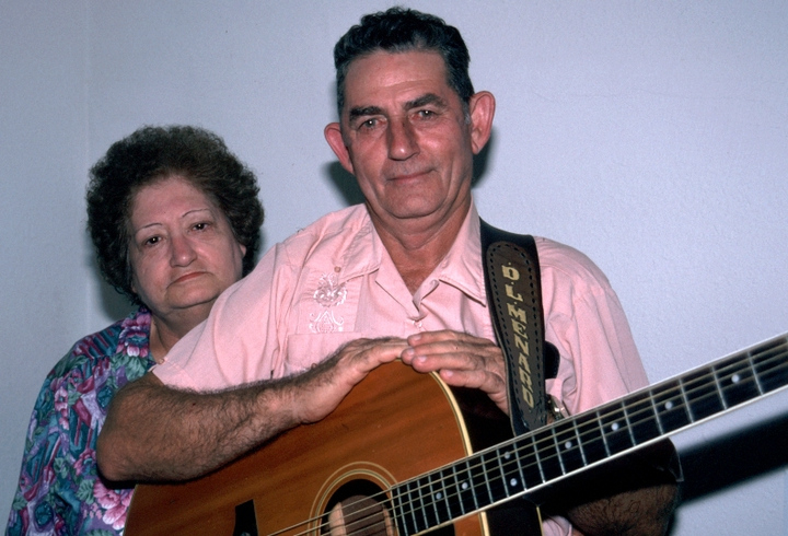 Lou Ella and D.L. Menard, Washington, D.C., 1994, photograph by Alan Govenar