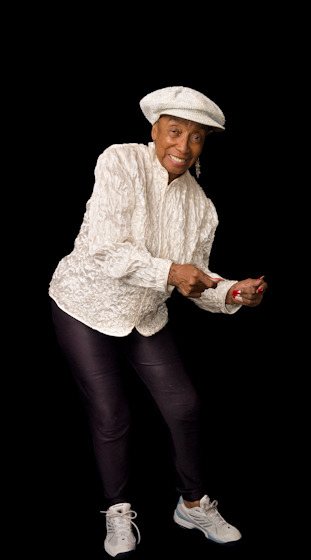Norma Miller, New Orleans, Louisiana, July 31, 2008, photograph by Alan Govenar
