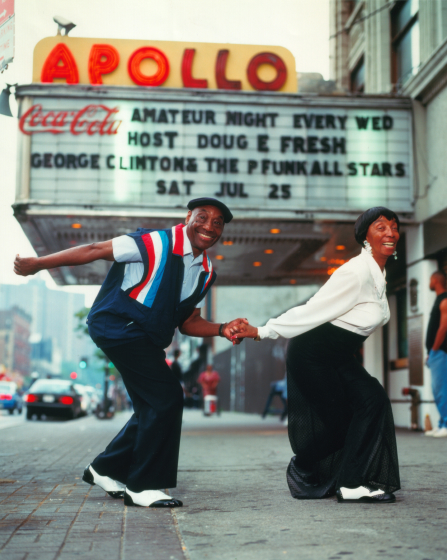 Frankie Manning and Norma Miller, courtesy Norma Miller