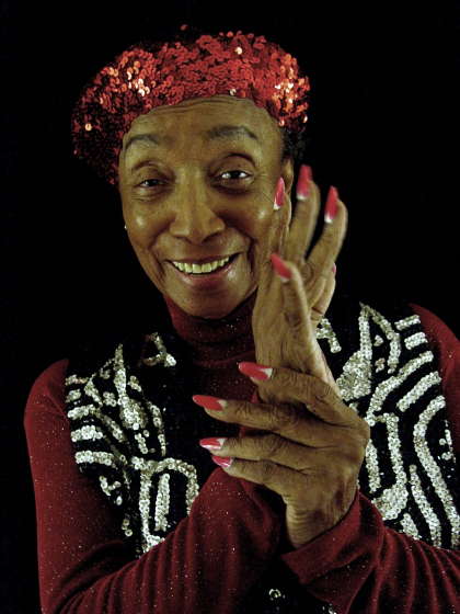 Norma Miller, Arlington, Virginia, 2003, photograph by Alan Govenar