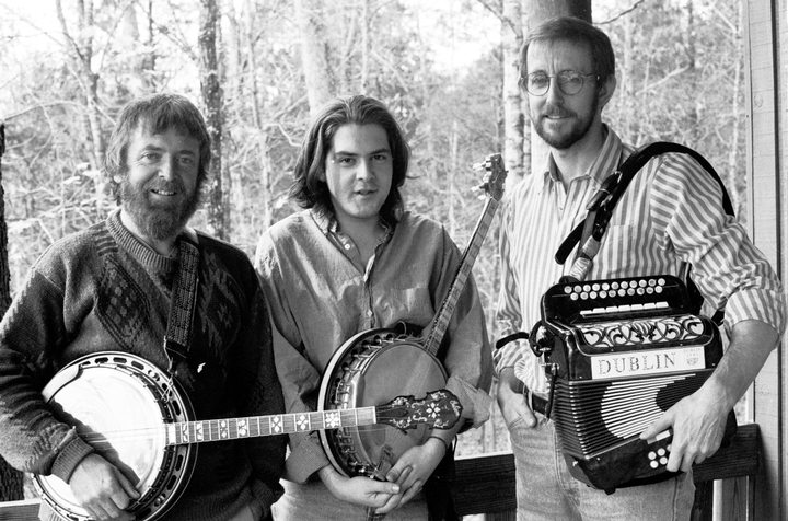 From left: Mick Moloney, Seamus Egan, James Keane, courtesy National Council for the Traditional Arts