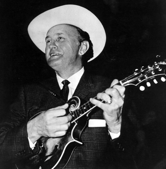 Bill Monroe, courtesy Ralph Rinzler Folklife Archives and Collections, Center for Folklife and Cultural Heritage, Smithsonian Institution