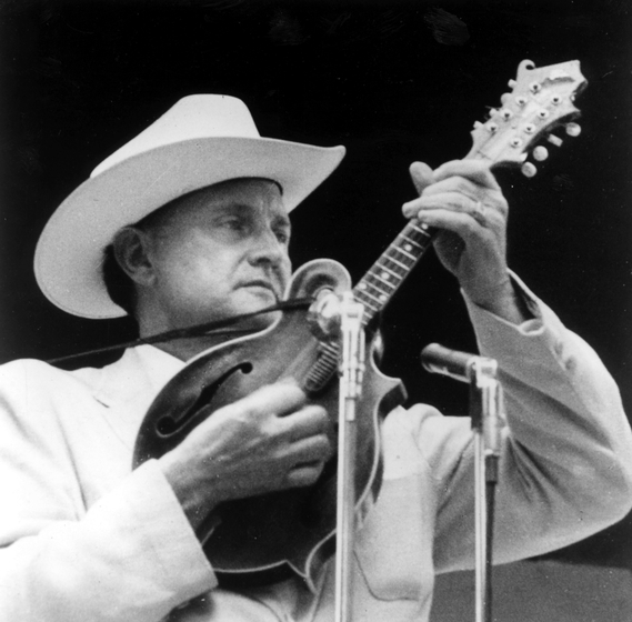 "Bluegrass musician Bill Monroe delighted in talking about the musical style he helped to originate. ""It [bluegrass] is Scotch bagpipes and ole-time fiddlin'. It's Methodist and Holiness and Baptist. It's blues and jazz and has a high lonesome sound."" Courtesy Ralph Rinzler Folklife Archives and Collections, Center for Folklife and Cultural Heritage, Smithsonian Institution"
