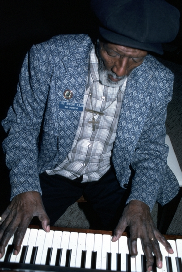Alexander H. Moore, Dallas, Texas, 1985, Photograph by Alan Govenar