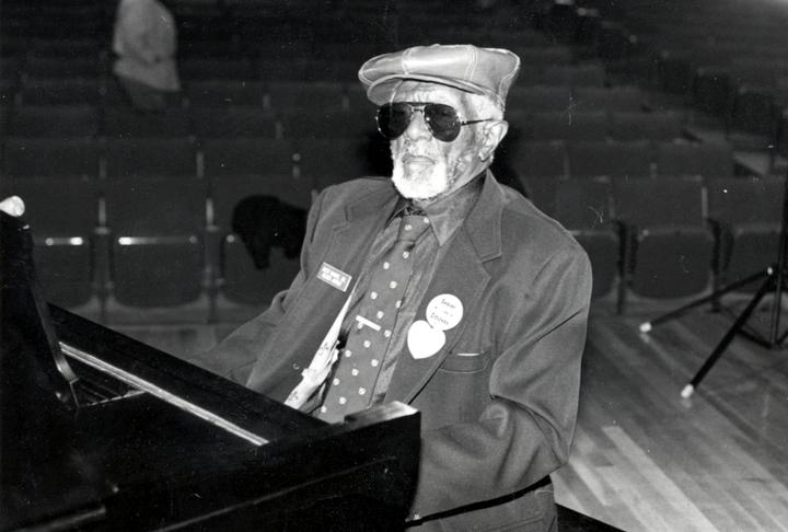 Alexander H. Moore, Austin, Texas, 1987, photograph by John Slate