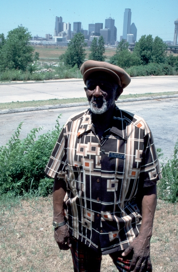 Alexander H. Moore, Dallas, Texas, 1987, photograph by Alan Govenar
