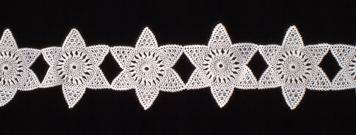 Bobbin lace (detail) by Genevieve Mougin, courtesy National Endowment for the Arts