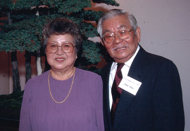 Alice and John Naka, 1992 National Heritage Fellowship Ceremonies, courtesy National Endowment for the Arts
