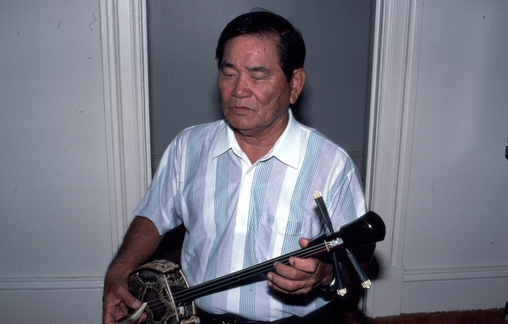 "Seisho ""Harry"" Nakasone, Washington, D.C., 1991, photograph by Alan Govenar"
