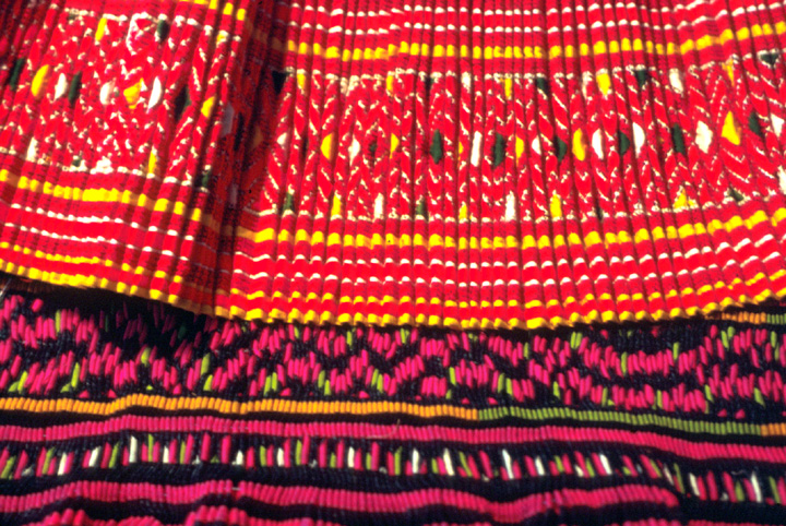 Traditional Hmong garments (detail) by Yang Fang Nhu, courtesy Michigan Traditional Arts Program, Michigan State University Museum