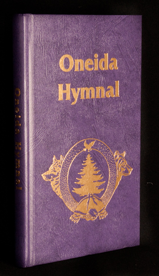 Oneida Hymnal, photograph by Alan Hatchett