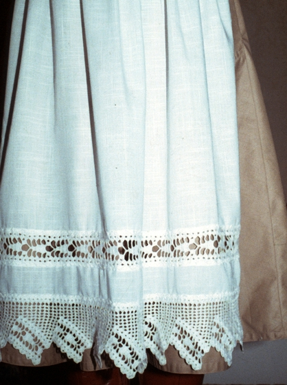 Hardanger needlework (detail) by Nadjeschda Overgaard, photograph by Steve Ohrn, courtesy National Endowment for the Arts