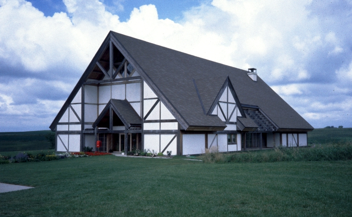Danish Immigrant Museum, near Kimballton, Iowa, where Nadjeschda Overgaard lived, photograph by Steve Ohrn, Courtesy National Endowment for the Arts