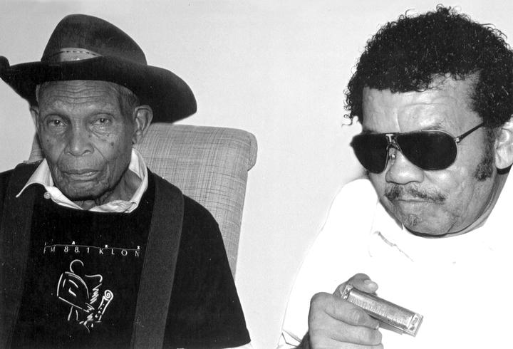 Jack Owens and Bud Spires, Washington, D.C., 1993, photograph by Alan Govenar