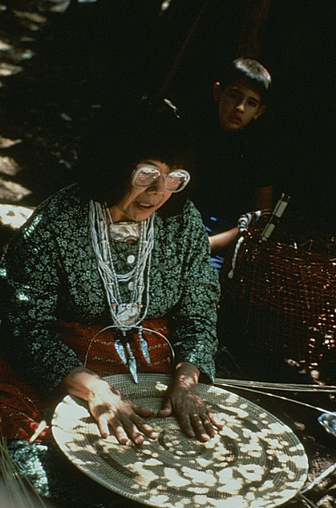 Julia Parker at work, courtesy National Endowment for the Arts