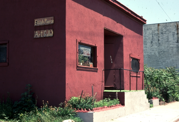 Elijah Pierceu0027s Barbershop And Art Gallery, Columbus, Ohio, 1977,  Photograph By Alan