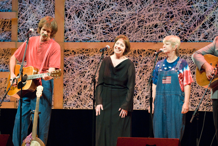 Tribute to Mary Jane Queen by friends and family members, 2007 National Heritage Fellowship Concert, Bethesda, Maryland, photograph by Alan Hatchett