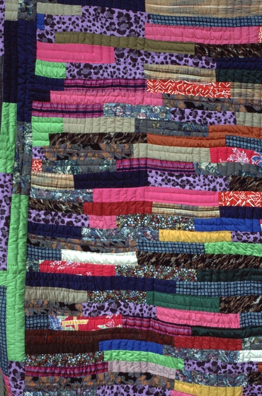 Jungle vine quilt (detail) by Hystercine Rankin, 1991, photograph by Patricia Crosby, courtesy Mississippi Cultural Crossroads and National Endowment for the Arts