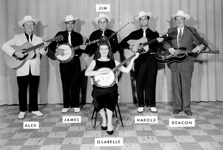 Ola Belle Reed and the New River Boys, 1959, courtesy Maryland State Arts Council
