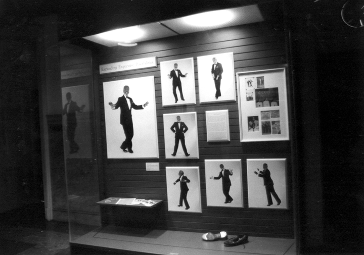 LaVaughn Robinson exhibit (with tap shoes), Philadelphia, Pennsylvania, courtesy LaVaughn Robinson