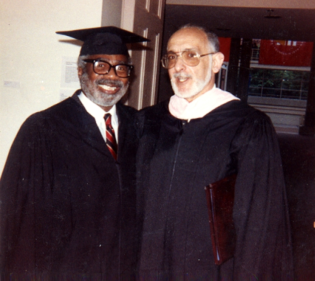 LaVaughn Robinson and Dean Jay, University of the Performing Arts, Philadelphia, Pennsylvania, 1985, courtesy LaVaughn Robinson