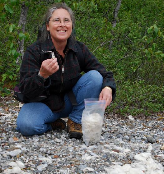 Teri Rofkar in Sitka, Alaska, courtesy Teri Rofkar