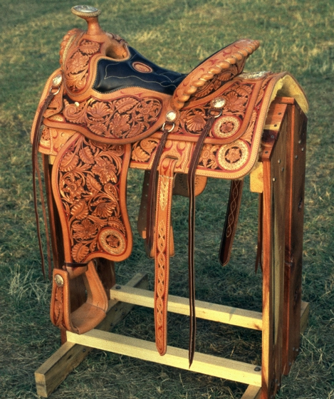 Saddle by Duff Severe, courtesy National Endowment for the Arts