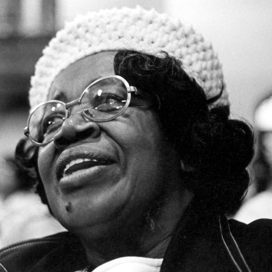 Willie Mae Ford Smith at age 74, courtesy George T. Nierenberg