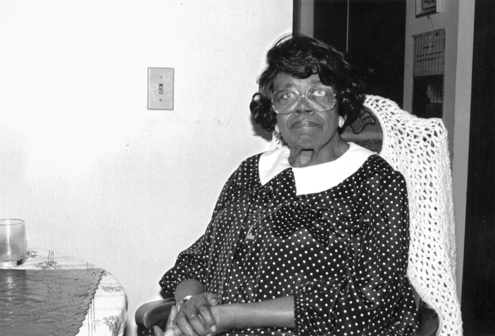 Willie Mae Ford Smith, St. Louis, Missouri, 1991, photograph by Alan Govenar