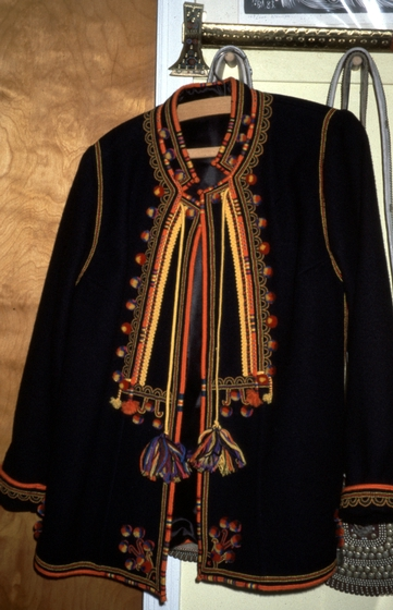 Jacket by Eudokia Sorochaniuk, courtesy New Jersey State Council on the Arts