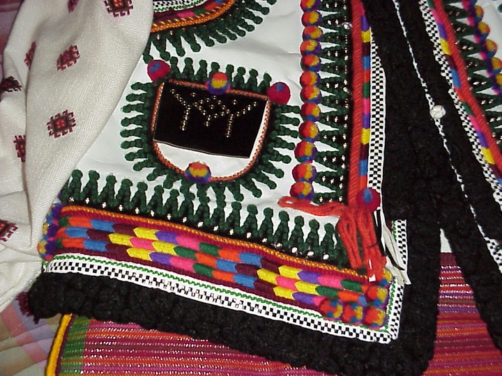Embroidered jacket by Eudokia Sorochaniuk, courtesy New Jersey State Council on the Arts