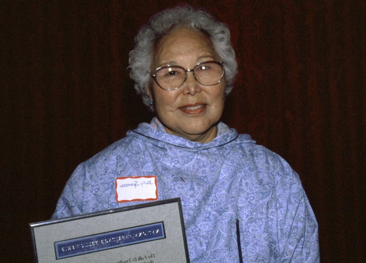 Dolly Spencer, 1996 National Heritage Fellowship Ceremonies, courtesy National Endowment for the Arts