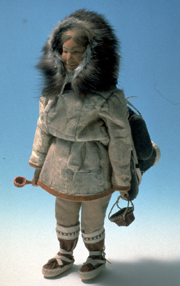 'Summer Lady Doll' by Dolly Spencer, 1990, courtesy Alaska State Council on the Arts