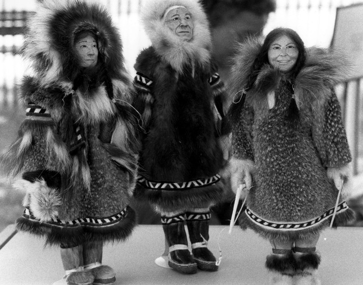 Inupiat dolls by Dolly Spencer, courtesy National Endowment for the Arts