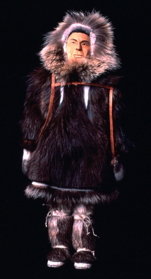 Inupiat doll by Dolly Spencer, courtesy National Endowment for the Arts