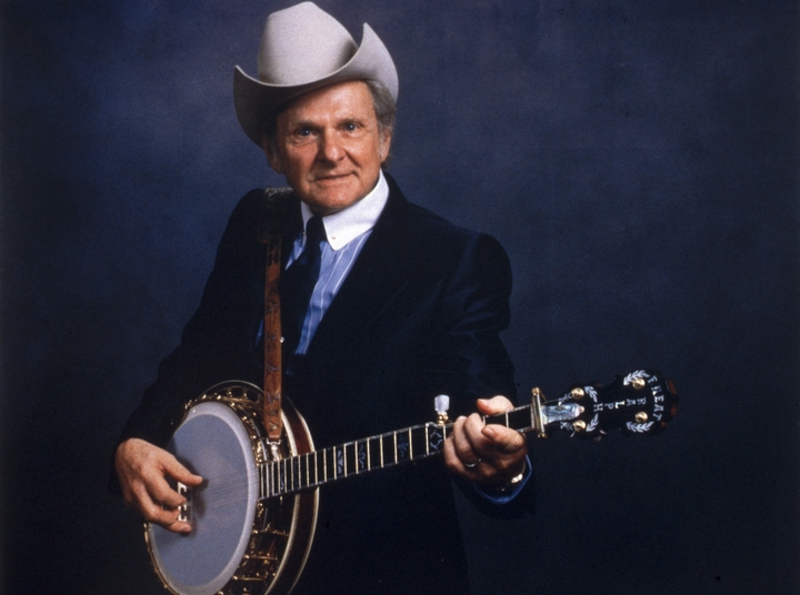 Bluegrass banjo player and bandleader Ralph Stanley continued as a solo act after his brother and longtime musical partner Carter Stanley died in 1966. Though Ralph has played a primarily traditional repertoire, he has also written his own songs. Courtesy National Council for the Traditional Arts