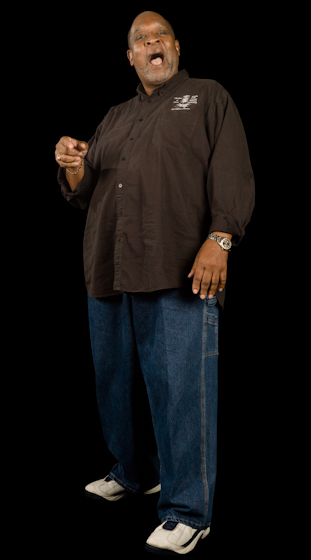 Wayne Williams of The Birmingham Sunlights, Bethesda, Maryland, 2009, photograph by Alan Govenar
