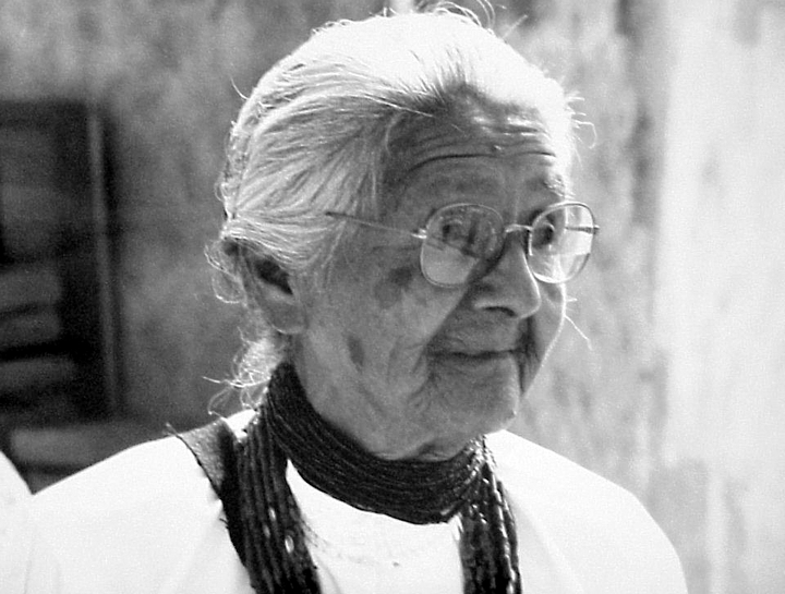 Margaret Tafoya, Santa Clara Pueblo, New Mexico, photograph by Tom McCarthy, courtesy National Endowment for the Arts