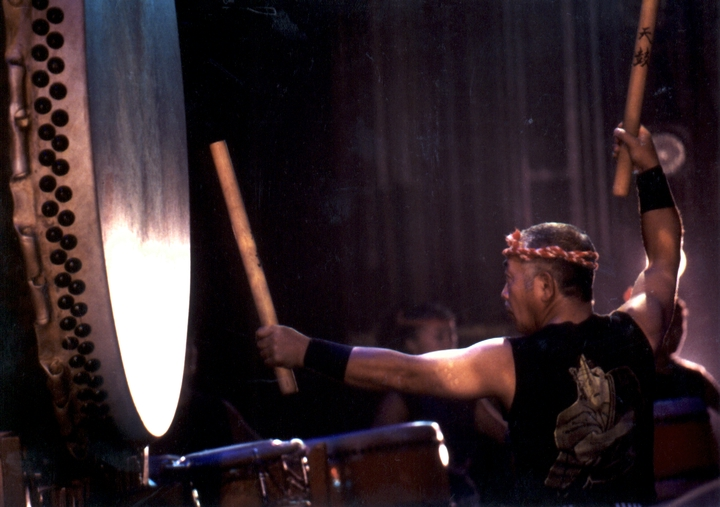 Seiichi Tanaka, photograph by Francisco Villaflor, sourtesy San Francisco Taiko Dojo and National Endowment for the Arts