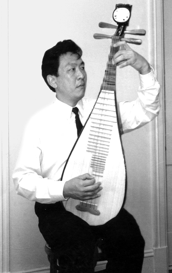 Liang-xing Tang, Washington, D.C., 1993, photograph by Alan Govenar