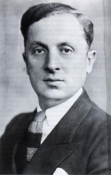 Dave Tarras, ca. 1935, Courtesy Henry Sapoznik
